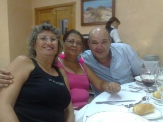 Visita de Cinta Aleman y Patricio, oyentes de Barcelona 11082016
