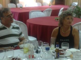 Visita de Cinta Aleman y Patricio, oyentes de Barcelona 11082017