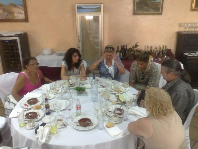 Visita de Cinta Aleman y Patricio, oyentes de Barcelona 11082018