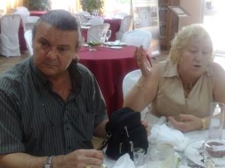 Visita de Cinta Aleman y Patricio, oyentes de Barcelona 11082021