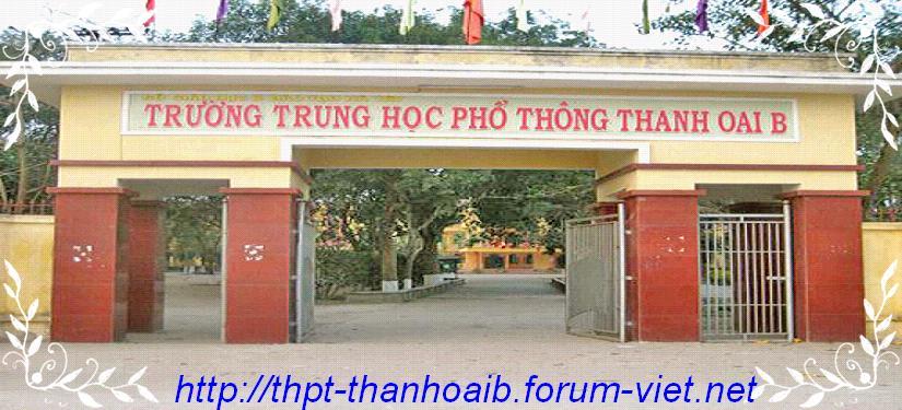 THPT Thanh Oai B