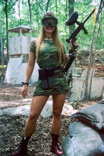 Photos sexy miss paintball Paintb11
