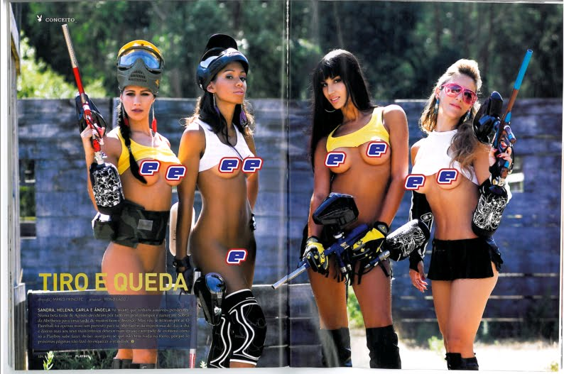 Photos sexy miss paintball Playbo13