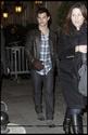 Robert Pattinson, Kristen Stewart , Taylor Lautner et Chris Weitz, à Paris, le 10 Novembre 2009... 00213