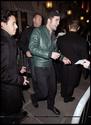 Robert Pattinson, Kristen Stewart , Taylor Lautner et Chris Weitz, à Paris, le 10 Novembre 2009... 00613