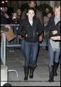 Robert Pattinson, Kristen Stewart , Taylor Lautner et Chris Weitz, à Paris, le 10 Novembre 2009... 01411