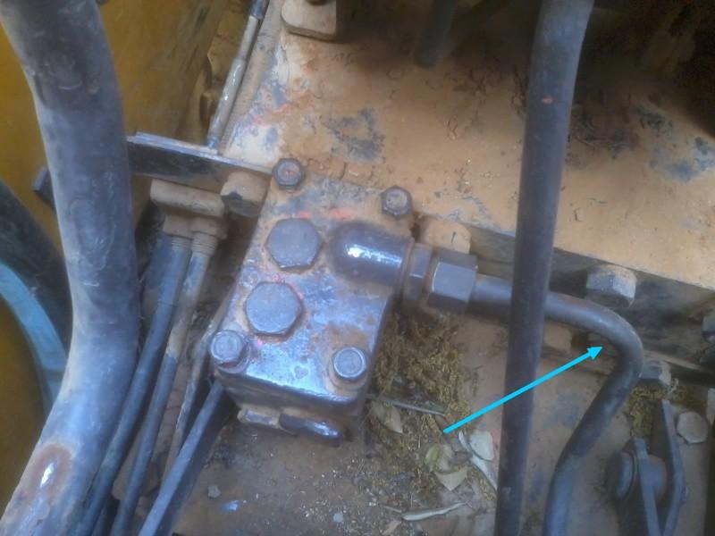 circuit hydraulique R60 Distri10