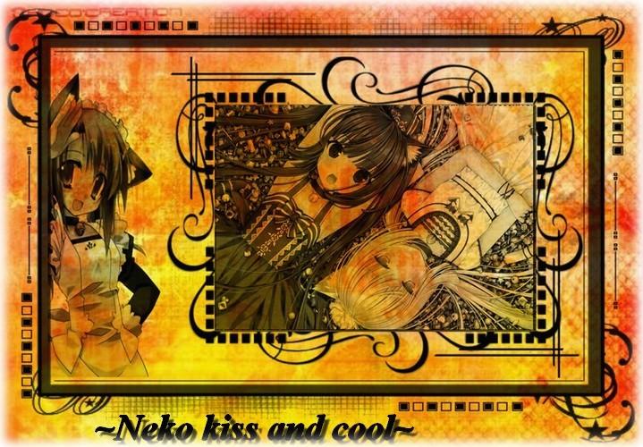 Neko kiss and cool