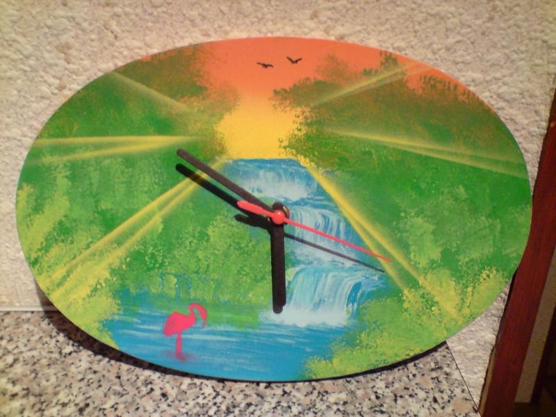 voici les premiers essais d'une horloge par coolzen ! P2111013