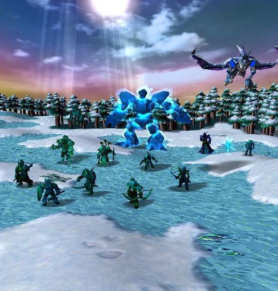Ice Elves vs Scourge 1.8 Ie_uni11