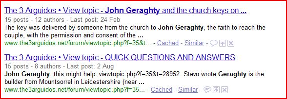 John Geraghty Cache11