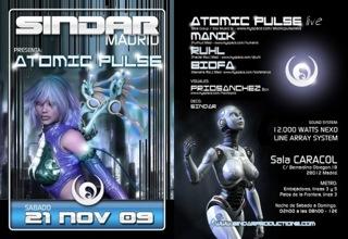 21.11.2009 - ATOMIC PULSE at Madrid 8223_111