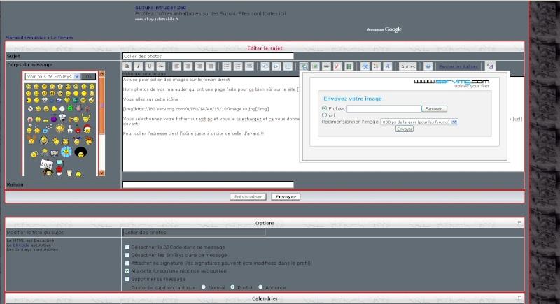Astuce pour coller des images sur le forum direct Image210