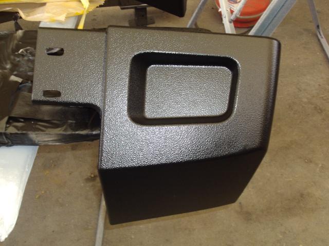 Restauration des plastiques et pare-chocs sur un Hummer H2 Dsc02510