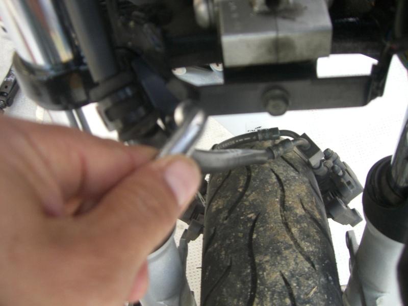 [CR] vidange de fourche fz6 Cimg7330