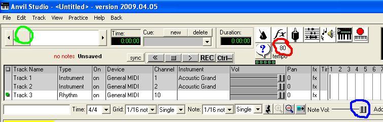Bikin Lagu Lewat PC (Anvilstudio) Anvil110