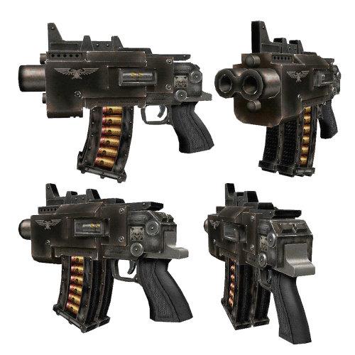 Modificar replicas a modelos de Warhammer 4000 Storm_10