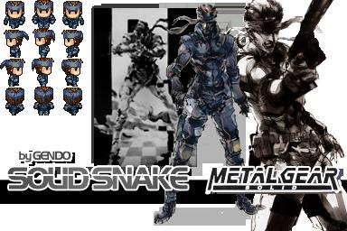 Character metal gear ! Soli3110