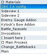 Problème avec le système d'invocation de Blockade Script10