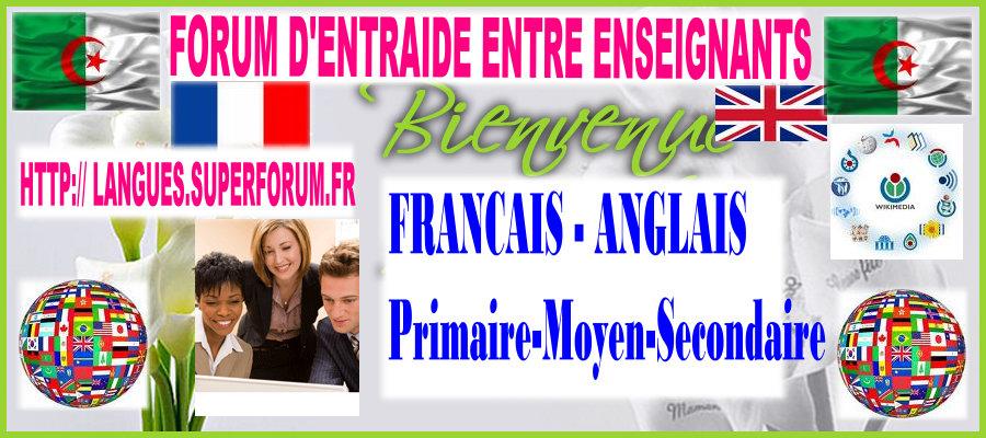 ENSEIGNEMENT DES LANGUES ETRANGERES EN ALGERIE