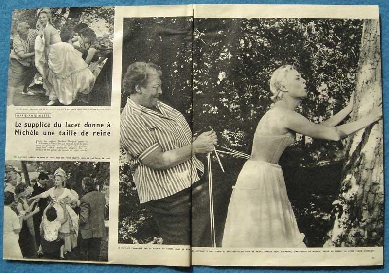 Marie Antoinette avec Michèle Morgan (Delannoy) - Page 5 Morgan11
