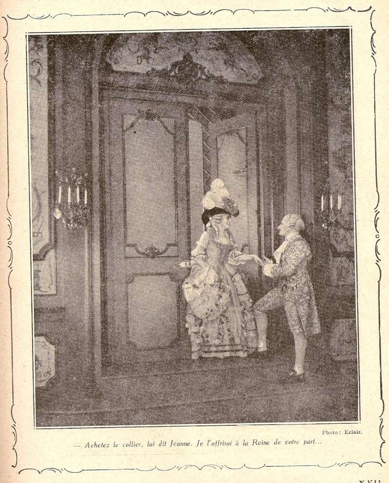 Le Collier de la Reine (Diane Karenne) de Tony Lekain et Gaston Ravel (1930) Numari30