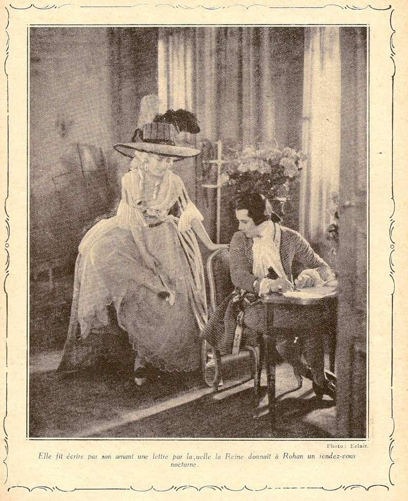 Le Collier de la Reine (Diane Karenne) de Tony Lekain et Gaston Ravel (1930) Numari35