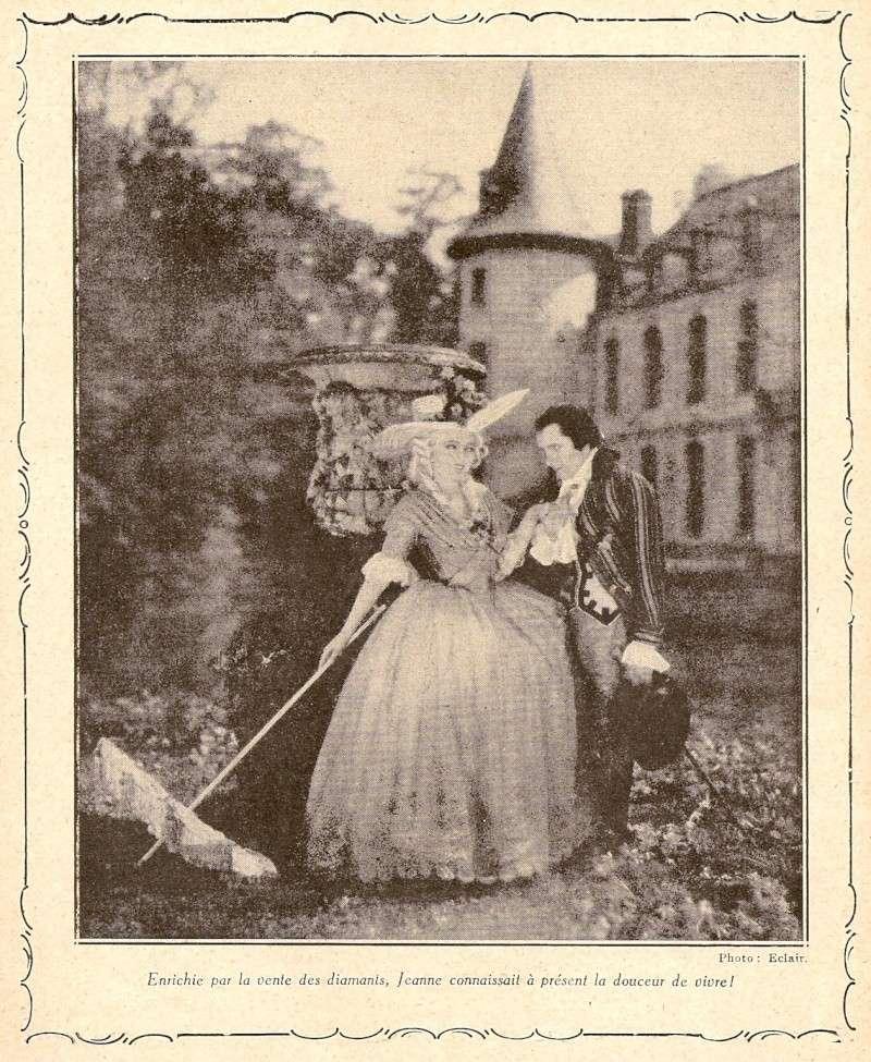 Le Collier de la Reine (Diane Karenne) de Tony Lekain et Gaston Ravel (1930) Numari39