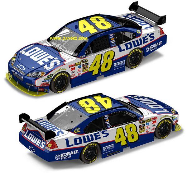 NASCAR- Nouvelles couleures pour 2010... 48lowe10