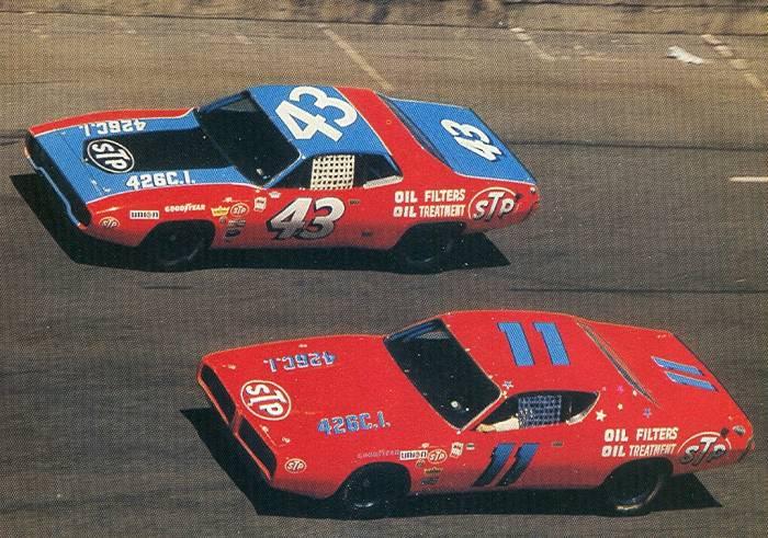 NASCAR histoire en pics Petty710