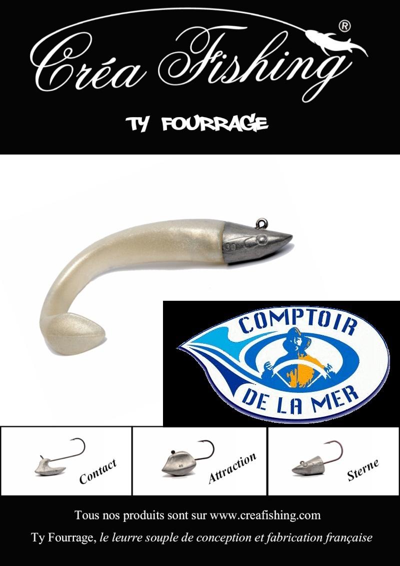 Creafishing leurre souple ty fourrage page 5 - Comptoir de la mer lorient ...