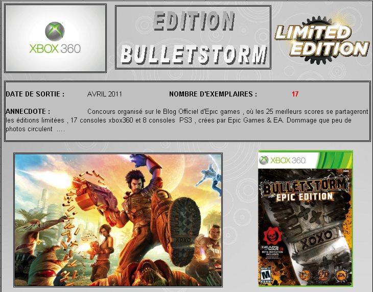 XBOX 360 : Edition BULLETSTORM Bullet10