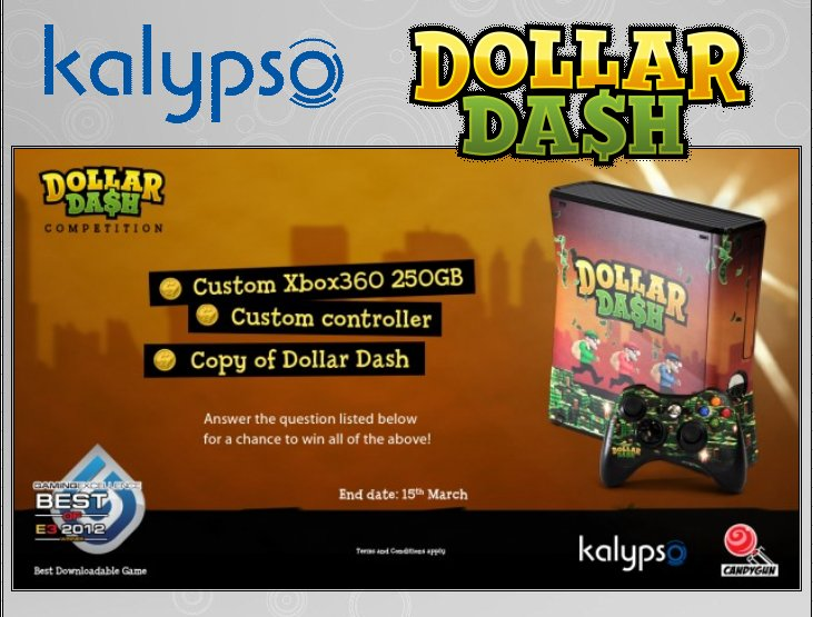 XBOX 360 : Edition DOLLAR DASH Dollar11