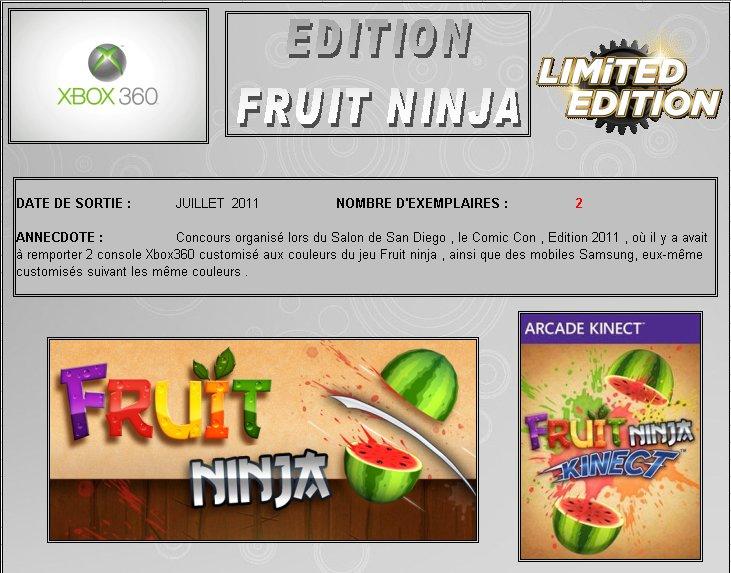 XBOX 360 : Edition FRUIT NINJA Fruit_10