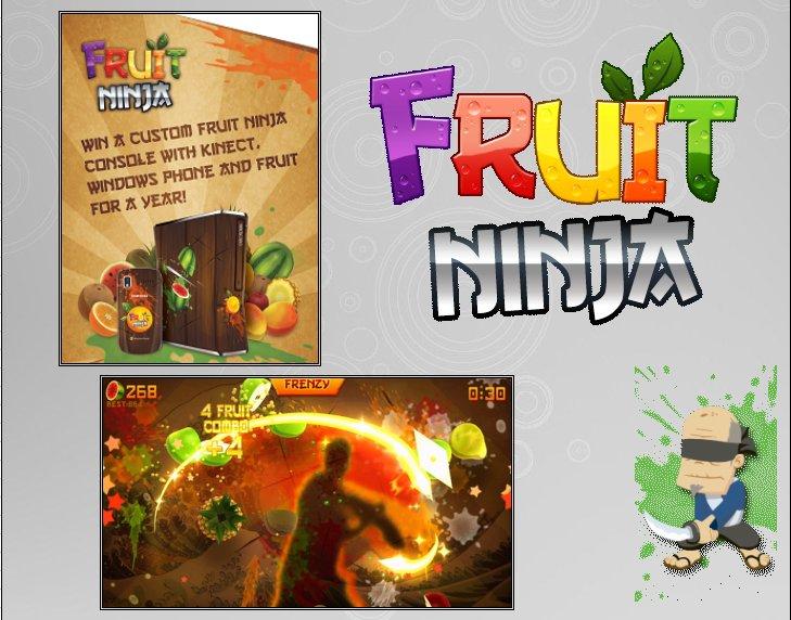 XBOX 360 : Edition FRUIT NINJA Fruit_11