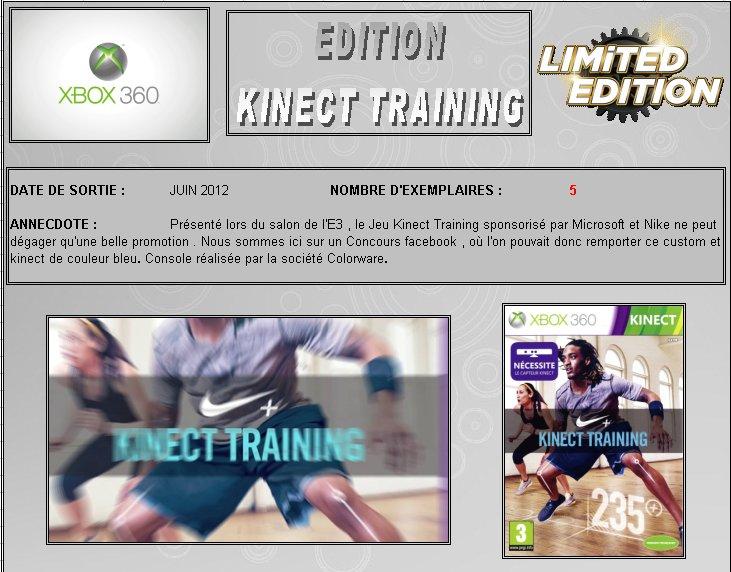 XBOX 360 : Edition KINECT TRAINING Kinect10