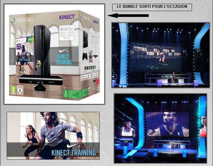 XBOX 360 : Edition KINECT TRAINING Kinect12