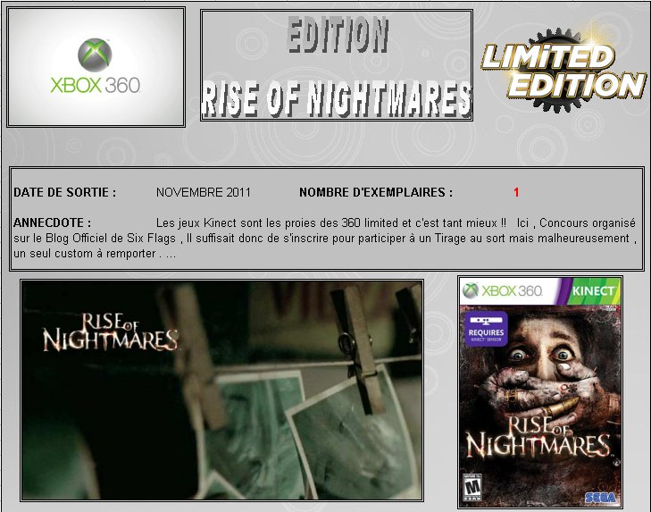 XBOX 360 : Edition RISE OF NIGHTMARES Rise_n10