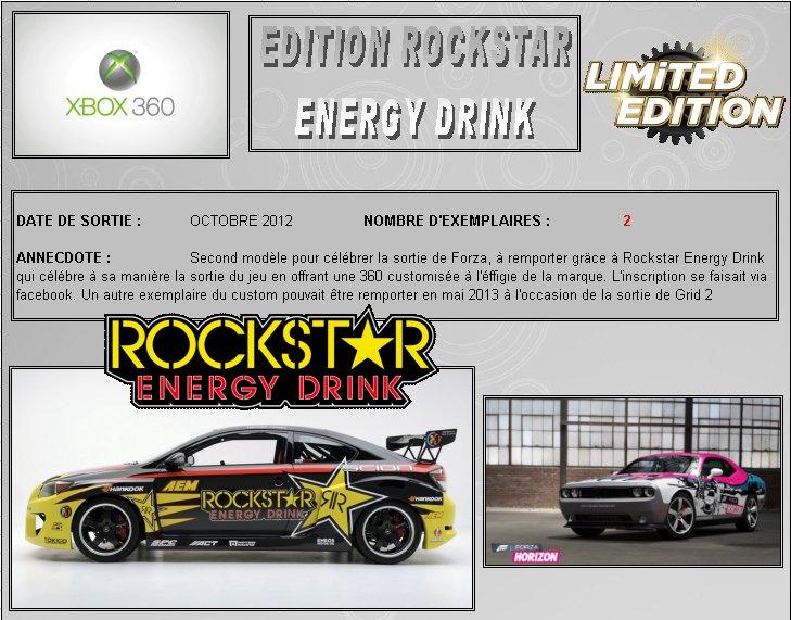 XBOX 360 : Edition ROCKSTAR ENERGY DRINK Rockst10