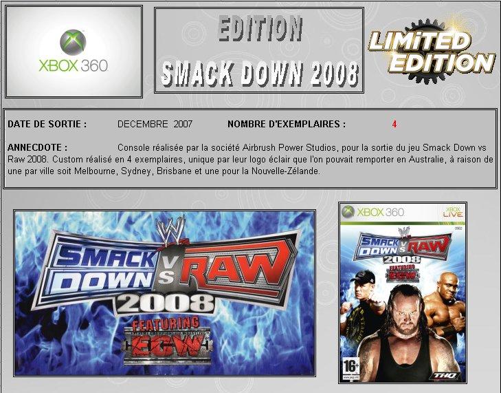 XBOX 360 : Edition SMACK DOWN vs RAW 2008 Smack_10