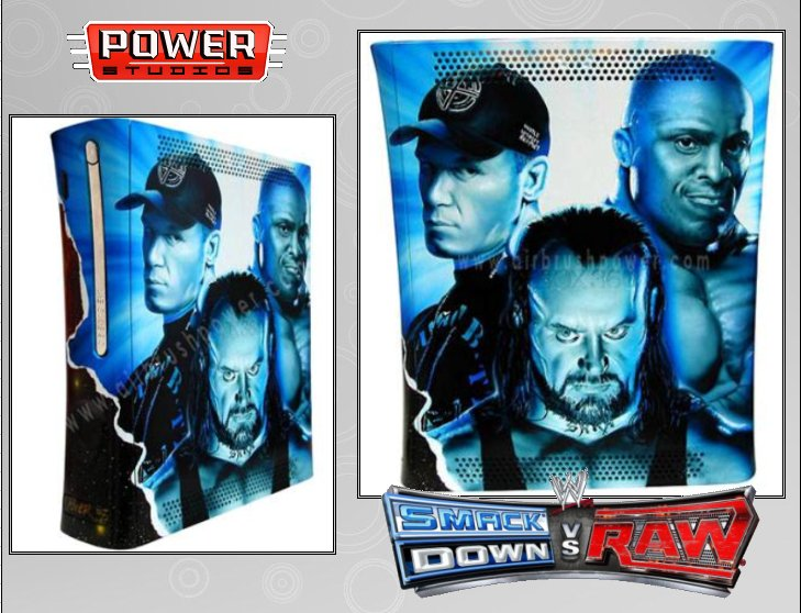 XBOX 360 : Edition SMACK DOWN vs RAW 2008 Smack_11