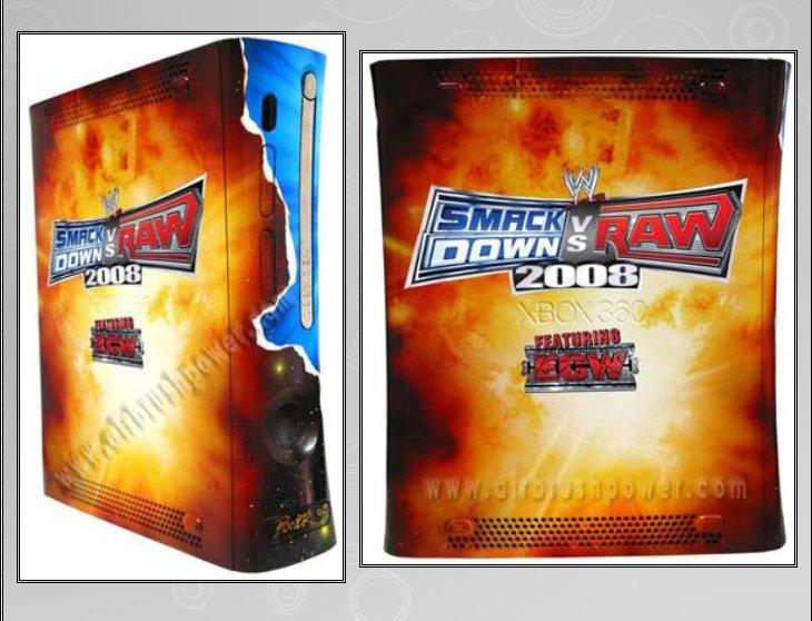 XBOX 360 : Edition SMACK DOWN vs RAW 2008 Smack_12