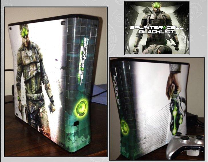 XBOX 360 : Edition SPLINTER CELL BLACKLIST Splint10