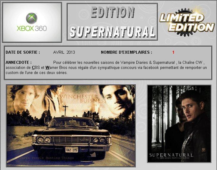 XBOX 360 : Edition SUPERNATURAL Supern10