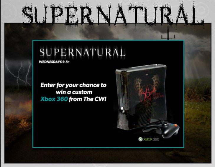 XBOX 360 : Edition SUPERNATURAL Supern12