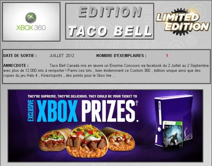 XBOX 360 : Edition TACO BELL Taco_b10