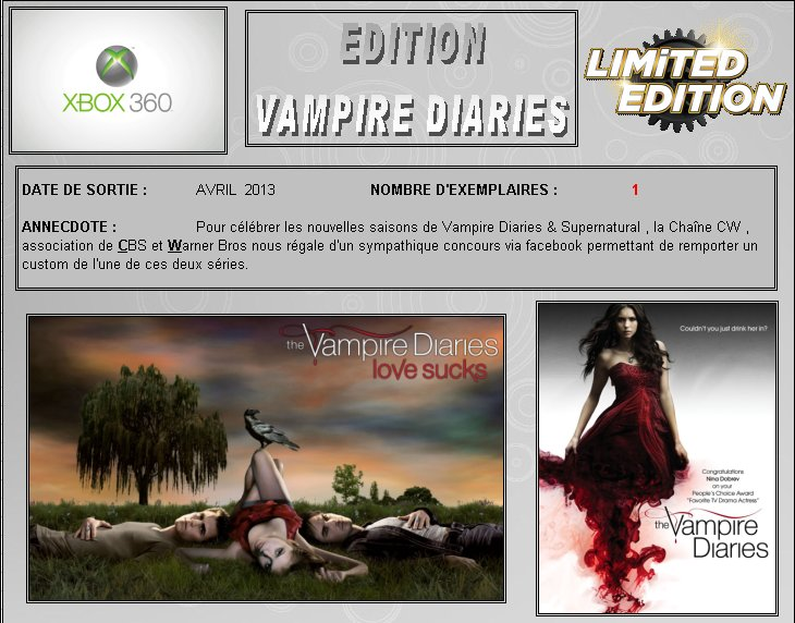 XBOX 360 : Edition VAMPIRE DIARIES Vampir10
