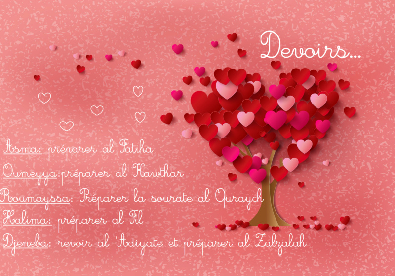 ♥ ~ Devoirs ~ ♥ Dev11
