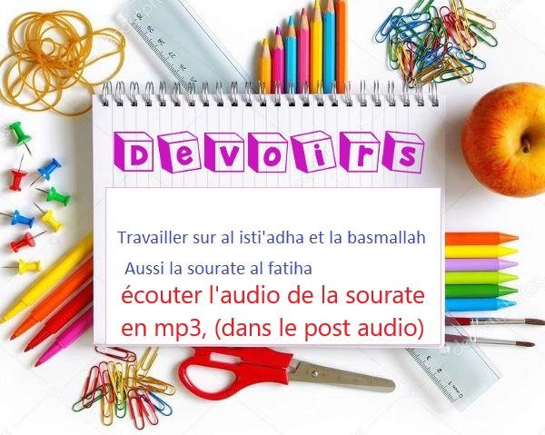 ♥ ~ Devoirs ~ ♥ Devoir11