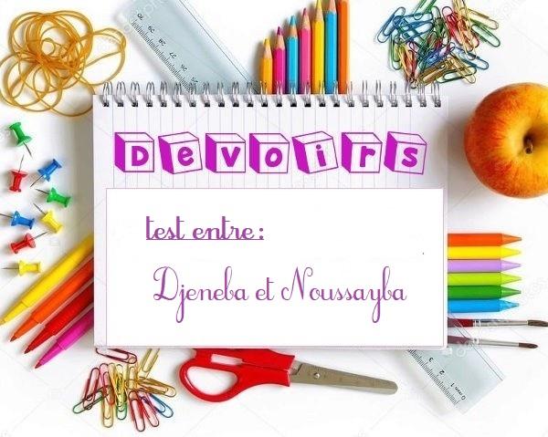 ♥ ~ Devoirs ~ ♥ Devoir19